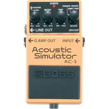 Pedal Efecto Boss Acoustic Simulator AC-3