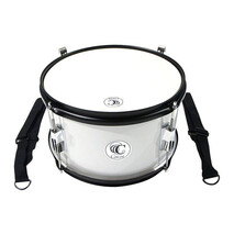 "Tambor Marching Junior 12"" x 7"" Blanco"