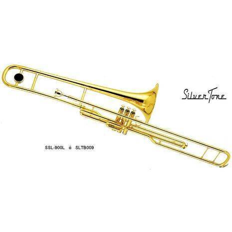 Trombon De Embolos En Tono De Si Silvertone SL-900L