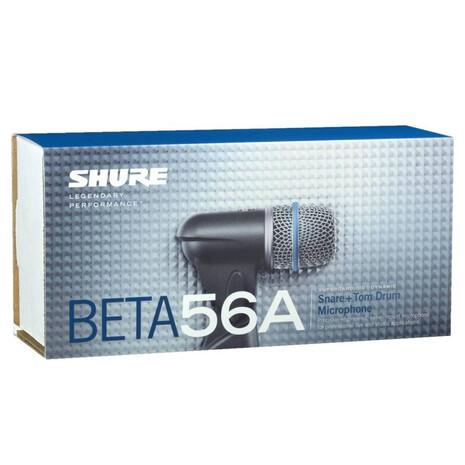Beta 56a  Microfono Para Toms, Tarola Shure