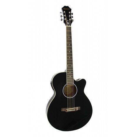 Guitarra Electro Acustica Epiphone PR-4E Negra