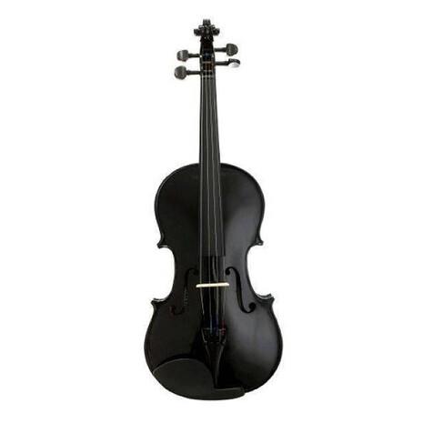 Violin Estudiante Negro MV005 BK con estuche