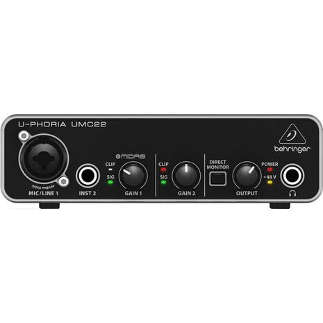 Interface Behringer MOD. UMC22