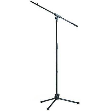 Stand Para Microfono Base Euro-Style Con Boom