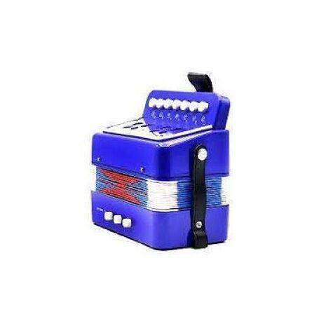 Acordeon Infantil Botones Azul Rey 7bts 2bs FARINELL