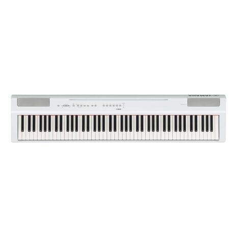 Piano Digital Yamaha Intermedio Color Blanco Incluye Adaptador PA-150