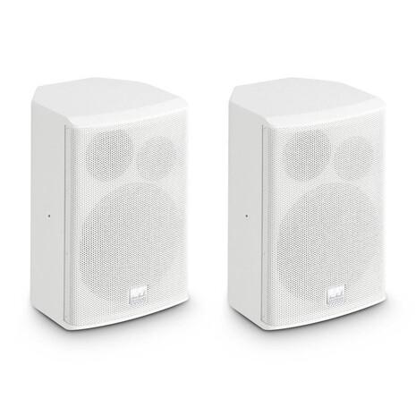 """Caja Acústica Para Instalación 6,5"""" Pasivo Blancos (Par)"""