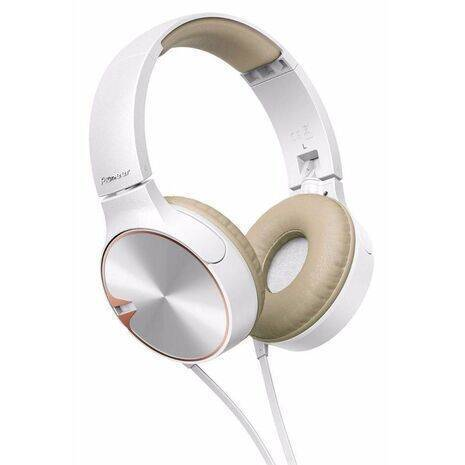 Audifonos Pioneer SE-MJ722T-T Blancos