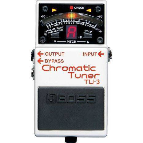 Pedal Efecto Boss TU-3  Afinador Chromatic Tuner