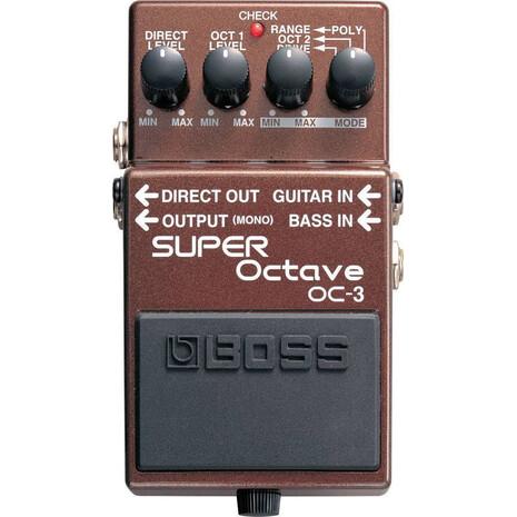 Pedal De Efecto Super Octave Boss OC-3