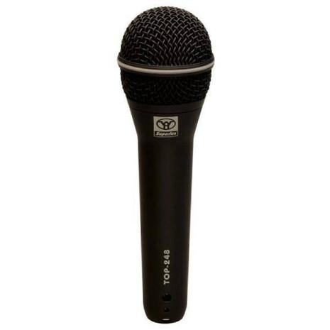 TOP-248Microfono Dinamico SUPERCARDIOIDE P/Voz /Coros