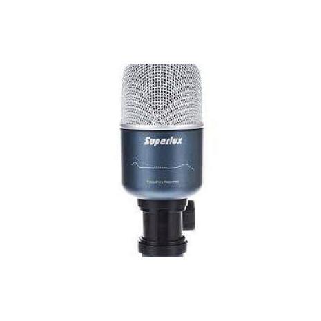 PRO-218AMicrofono Dinamico Super Cardioide P/Bombo