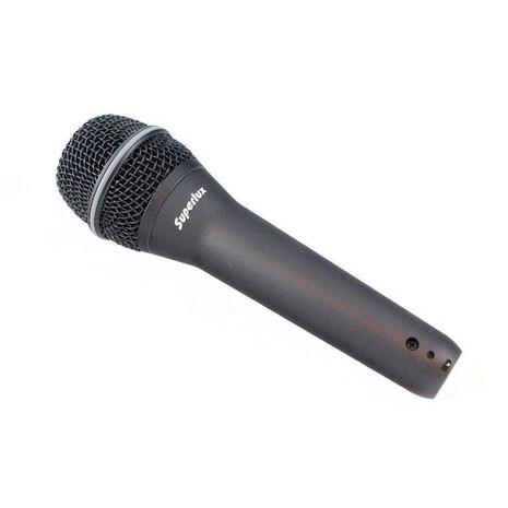 TOP-258Microfono Dinamico Super Cardioide P/Voz, Cuerdas y Perc.