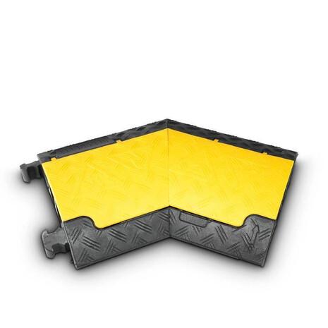 Cubre cables Yellow Jacket 85210L Curva 45 Grados Izquierda