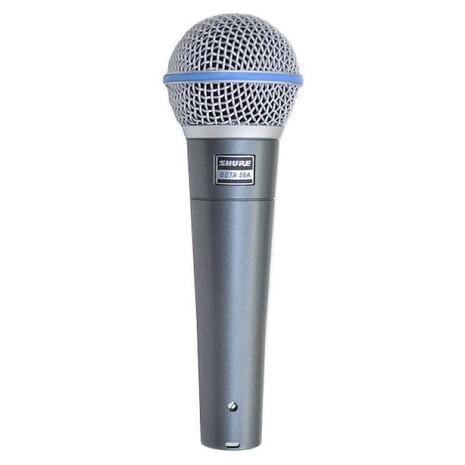 Microfono Profesional Shure Beta 58 para voz