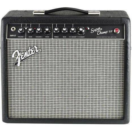 Amplificador Fender SuperChamp x2 Bulbos