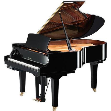 Piano de Cola Yamaha serie CX Disklavier de 173 centimetros (Skype + Remote play +Ipod/iphone control)