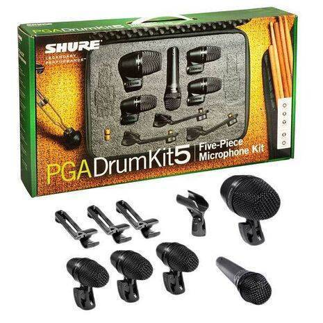 Paquete Microfonos para Bateria PGADRUMKIT5
