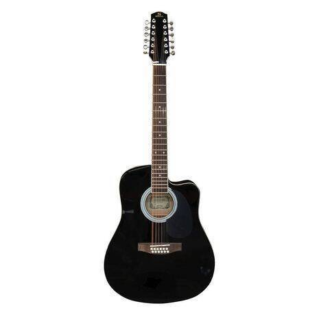 Guitarra Electroacustica Texana Segovia 12 Cuerdas