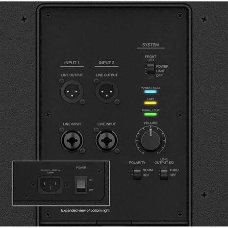 Subwoofer Amplificado Bose F1