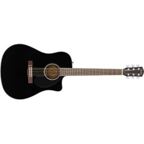 Guitarra Fender Electroacustica CD-60SCE Negra 0961704006
