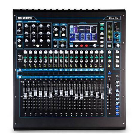 Mezcladora 16 canales QU-16 Allen & Heath Digital