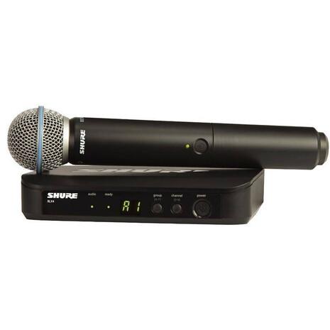 Microfono Inalambrico Shure BLX24 con Beta 58