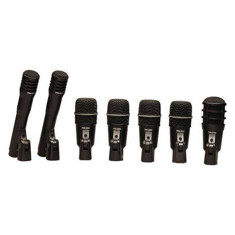 Set de 7 Microfonos Superlux para Bateria