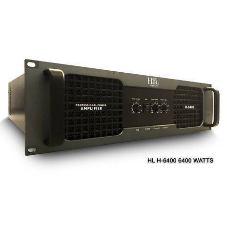 Amplificador 3 canales High Line H-6400 6400 watts