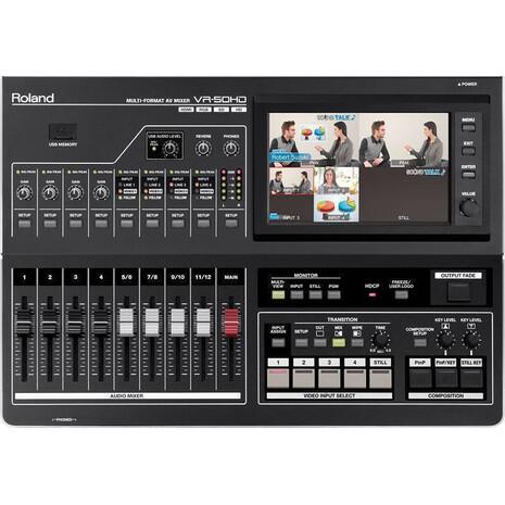 Mezcladora de video VR-50HD 4 canales