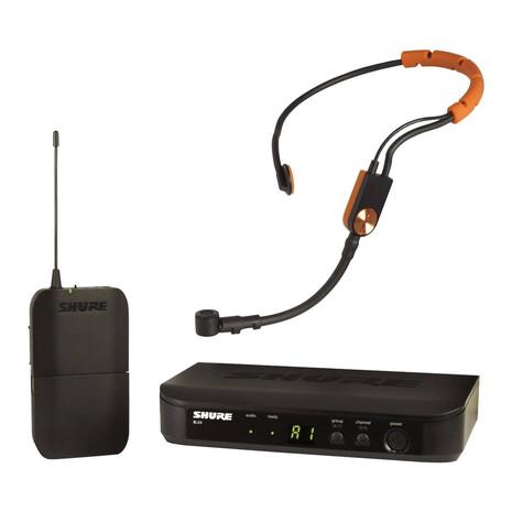 Microfono Shure de Diadema Inalambrico BLX14/SM31