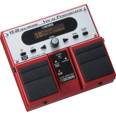 Roland VE-20: Procesador para Voz