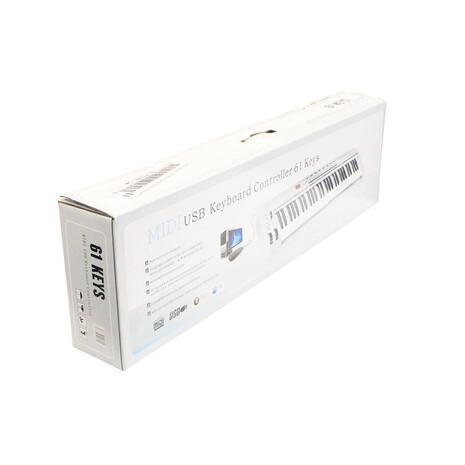 Controlador MIDI y USB Symphonic AS-61 de 61 teclas